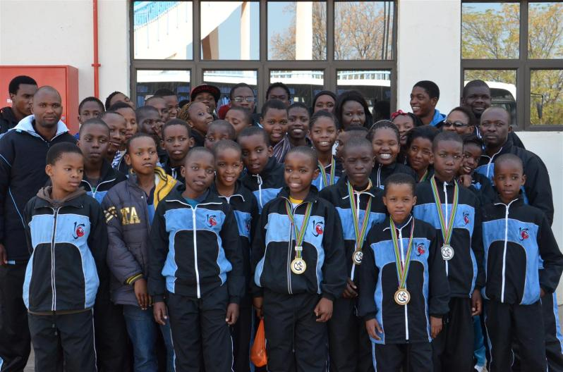 Botswana Judo Team to Port Elizabeth