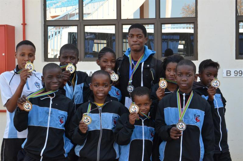 Botswana Judo Medal winners at the South African International Open Championships