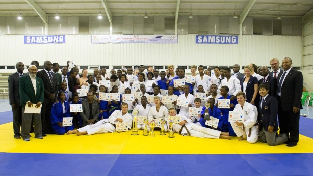 Participants of the Judo for Peace Event